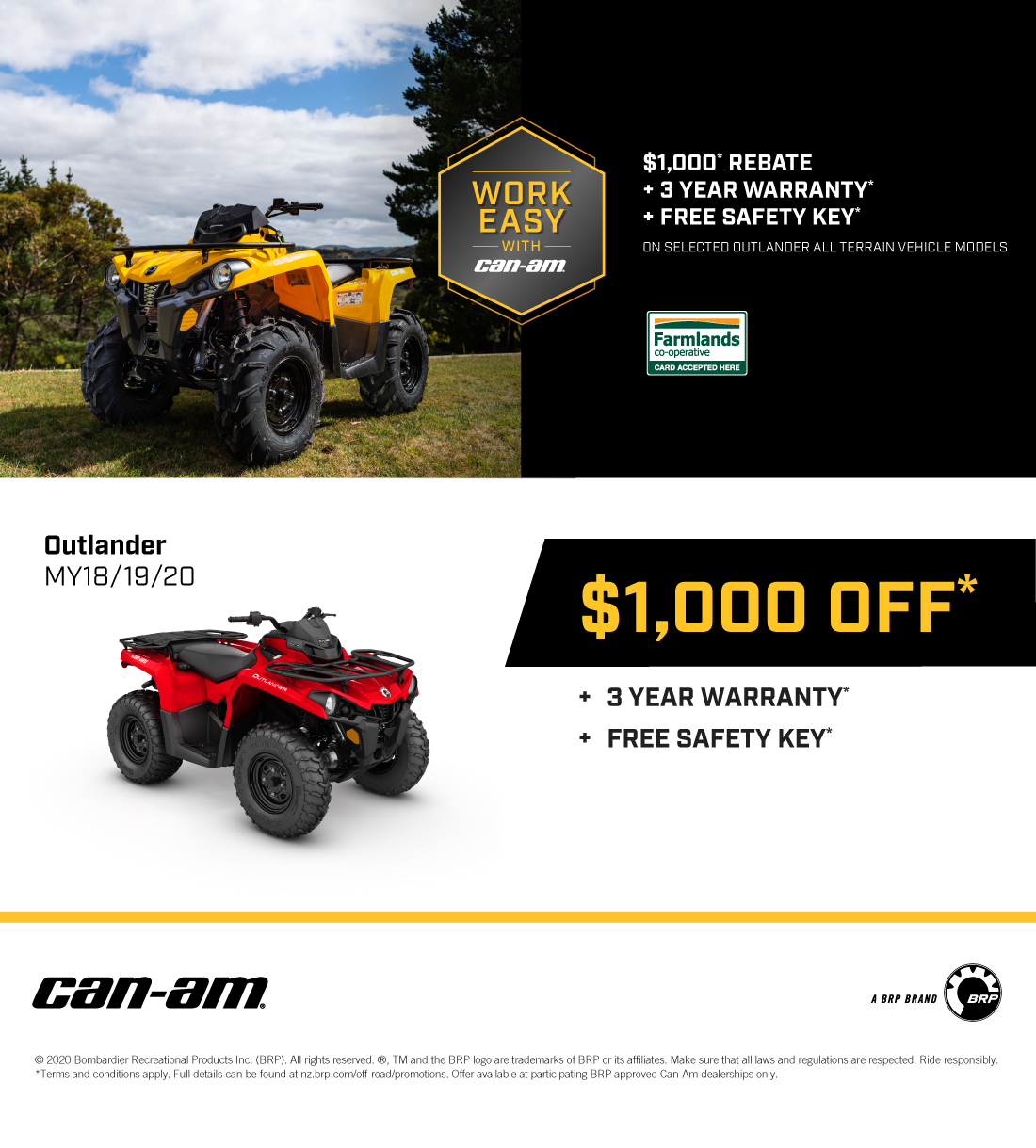 Can-Am May Promo
