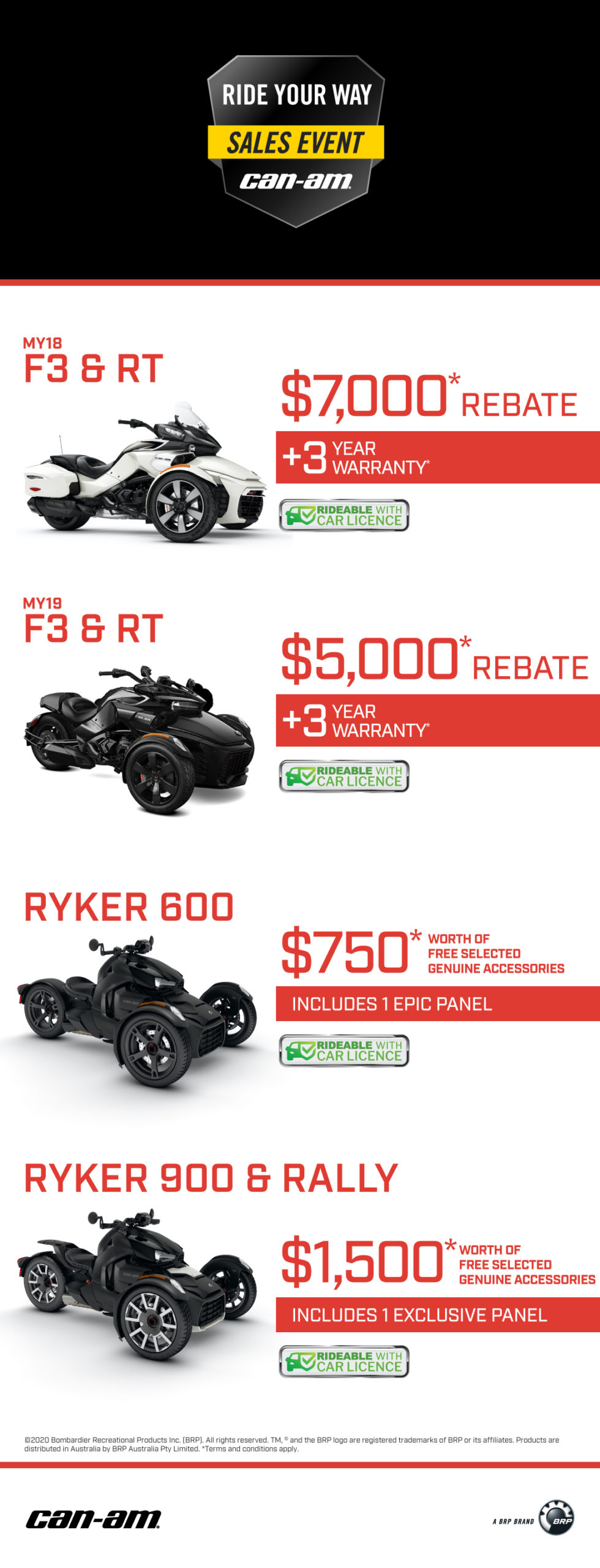 Can-Am Promo 2020